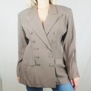 NWT VINTAGE Dani Michaels Double Breasted Blazer